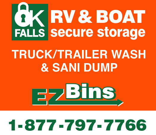 RV Boat Storage, RV Truck Wash, Sanidump